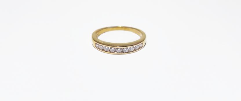 Wedding bands and Wedding rings.